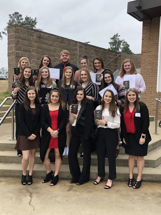 Murfreesboro FBLA students at the District Conference