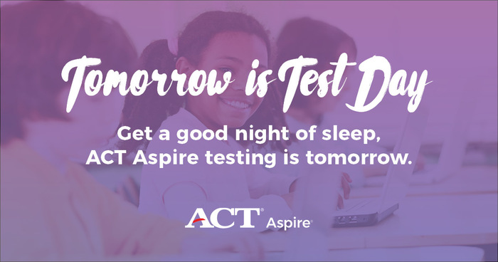 ACT Aspire Reminder