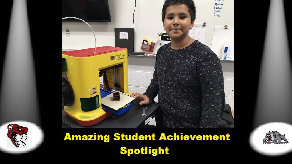 AMAZING STUDENT ACHIEVEMENT SPOTLIGHT