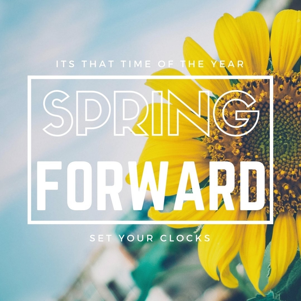 Set clocks forward
